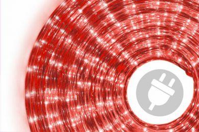 Fénykábel NEXOS 20m/720x mini izzó - piros