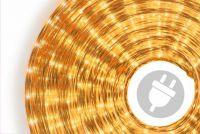 Fénykábel NEXOS 20m/720x mini izzó - sárga