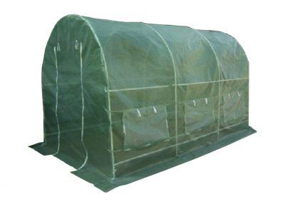 Fóliasátor GARDENAY 450 x 200 cm - zöld