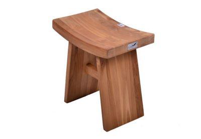 Kerti szék sámli DIVERO® - tíkfa