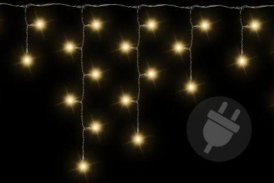 Karácsonyi fényfüggöny 72 LED meleg fehér - 2,7 m