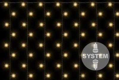 diLED fényháló NEXOS 200x LED - meleg fehér