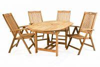 Kerti bútor szett DIVERO - teakfa