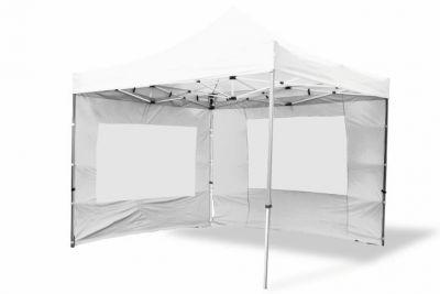 Összecsukható kerti sátor GARTH 3 x 3 m - fehér