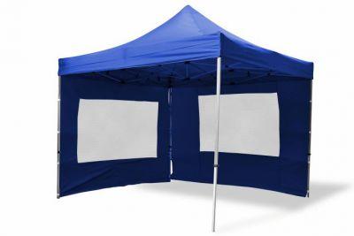 Összecsukható kerti sátor GARTH 3 x 3 m - kék