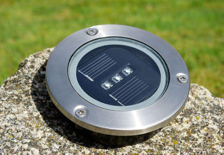 Kerti beépített napelemes LED megvilágítás Garth, 4 db