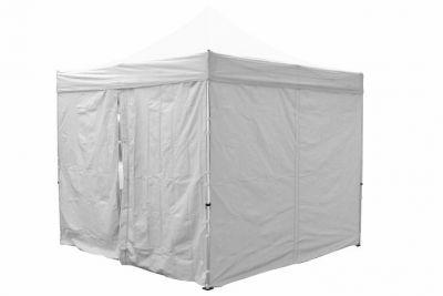 Két oldalfal PROFI kerti sátorhoz 3 x 3 m - fehér