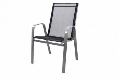 Kerti szék rakásolható GARTHEN - antracit