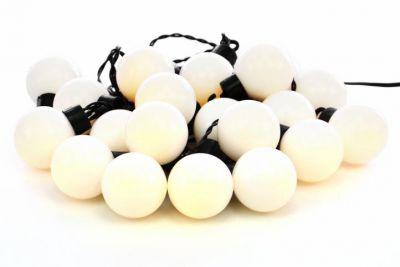 Kültéri megvilágítás 15m/20x LED - meleg fehér