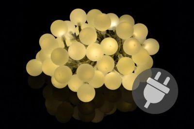 Kerti party világítás - kültéri 50 LED meleg fehér