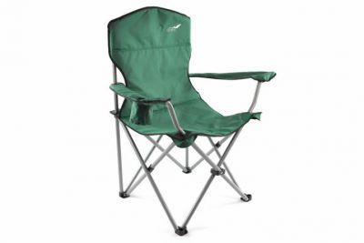 Kempingszék összecsukható DIVERO® XL - zöld