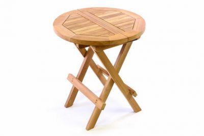 Kerti gyerek asztal DIVERO - teak fa