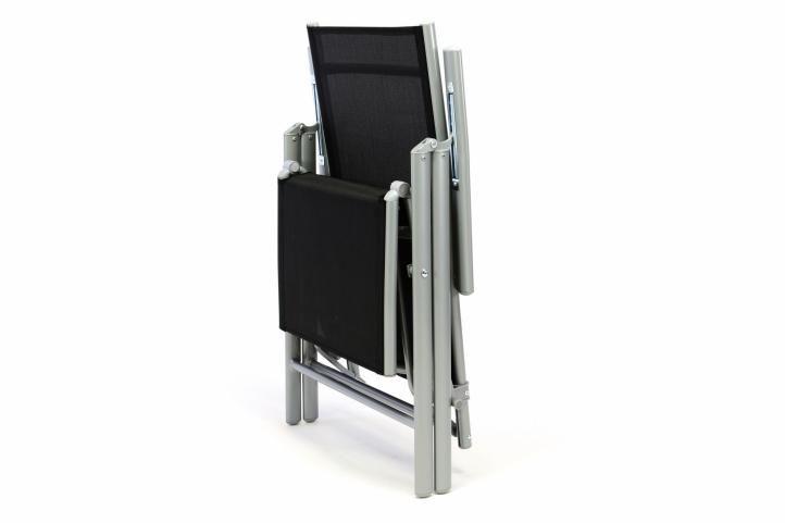 Kerti szék összecsukható RELAX - fekete