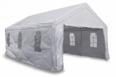 Kerti sátor pavilon GARTHEN 4 x 6 m - fehér