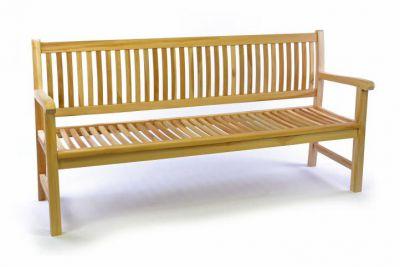 Kerti pad DIVERO® 3-személyes 180 cm - tíkfa