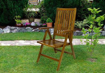 Kerti szék DIVERO - akác fa