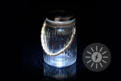 Napelemes világítás - függeszthető üveg