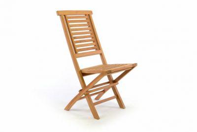 Összecsukható kert szék DIVERO Hantown - teak fa