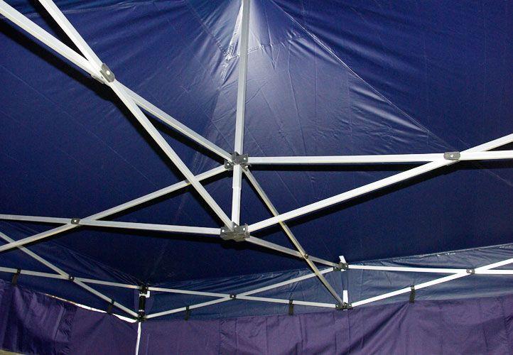Összecsukható kerti sátor PROFI 3 x 3 m - kék