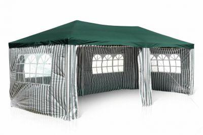Kerti sátor pavilon GARTHEN 3 x 6 m - zöld
