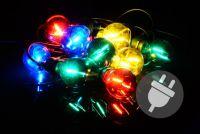 Kerti LED világítás - 5 m színes