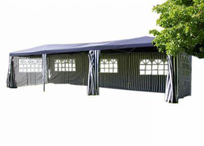 Kerti sátor GARTHEN – kék, 3 x 9 m