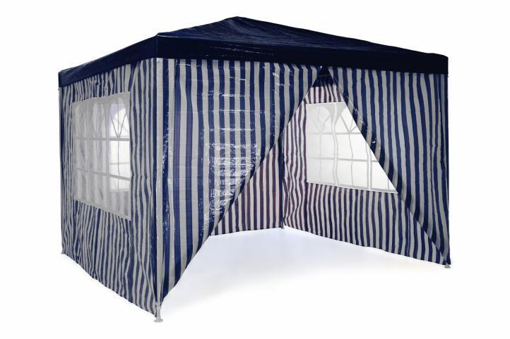 Kerti sátor GARTHEN 3 x 3 m - kék