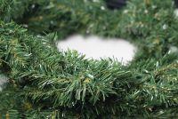 Karácsonyi girland NEXOS 270cm - sötétzöld
