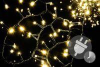 Karácsonyi fényfüzér NEXOS 20m/1000x LED - meleg fehér