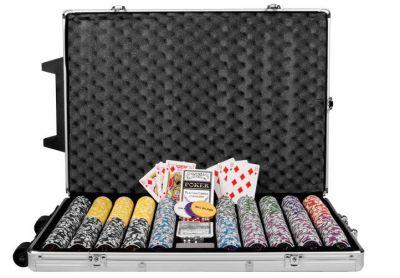 Póker szet 1000 db zseton OCEAN Trolley