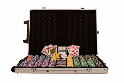 Póker készlet, 1000 db-os zseton - OCEAN Trolley CHAMPION CHIP