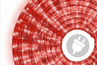 Fénykábel NEXOS 10m/360x mini izzó - piros
