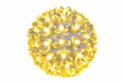 Karácsonyi LED fénygömb 12cm/50x LED  - meleg fehér