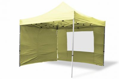 Összecsukható kerti sátor PROFI 3 x 3 m - champagne