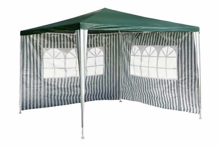 Kerti sátor GARTHEN 3 x 3 m - zöld