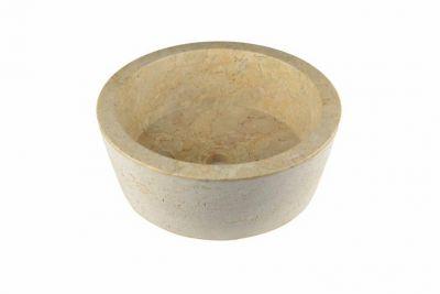 Mosdókagyló természetes kőből VENEDIG - márvány