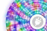 LED fénykábel 20 m - színes, 480 dióda