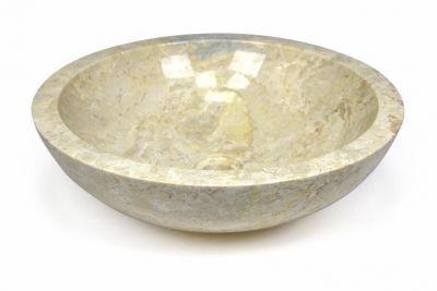 Mosdókagyló - csiszolt márvány - MODENA