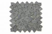 Andezit mozaik Garth, burkolat - fekete/sötétszürke