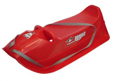 Müanyag szánkó PINGUIN Alfa A2045-CRV - piros
