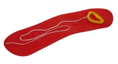 Snowboard gyerek müanyag -  piros