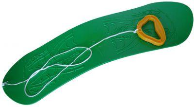 Snowboard gyermek műanyag - zöld