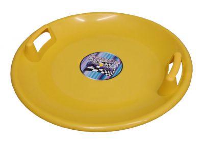 Superstar müanyag tányér sárga