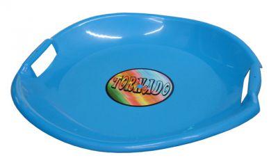 sánkó tányér kék