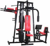 Fitnesz torony BROTHER HG4900 2 x 67 kg - piros