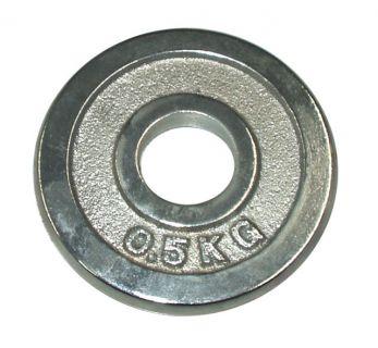 Súlytárcsa súlyzóhoz 0,5 kg - 30 mm