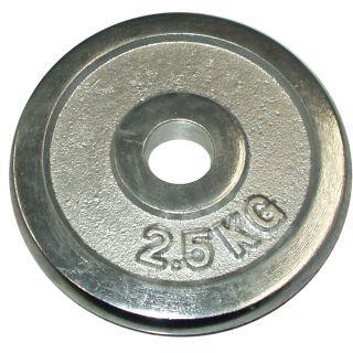 Súlytárcsa súlyzóhoz 2,5 kg - 25 mm
