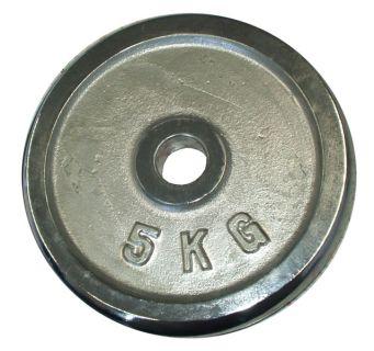 Súlytárcsa súlyzóhoz 5 kg - 25 mm