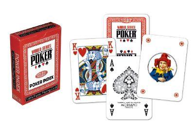 Póker kártyák WSOP regular index piros