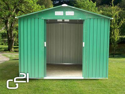 Kerti fém ház G21 GAH 429 - 251 x 171 cm - zöld